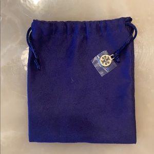 Tory Burch jewelry dust bag. New